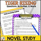 The Tiger Rising Novel Study Book Unit