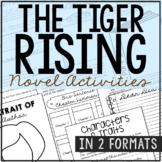 THE TIGER RISING Novel Study Unit Activities | Creative Book Report