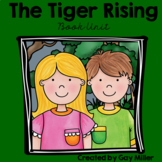 The Tiger Rising Printable Novel Study: vocabulary, comprehension, writing