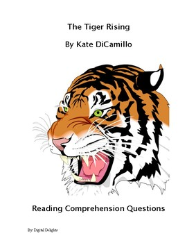 The Tiger Rising Reading Comprehension and Book Test