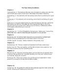The Tiger Rising Vocabulary/Comprehension Questions