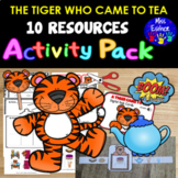 The Tiger Who Came to Tea - Activity Pack / NINE ACTIVITIE