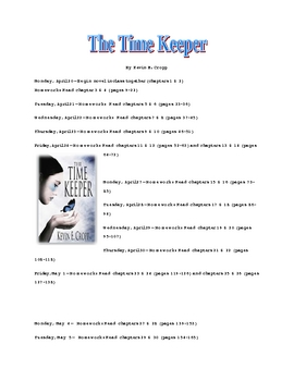 The Time Keeper Reading Schedule