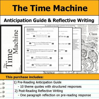 The Time Machine - Anticipation Guide & Reflection Writing
