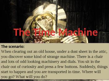 The Time Machine - Creative Writing Lesson