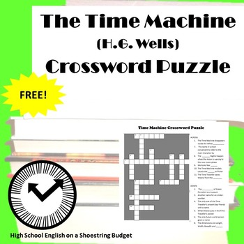 The Time Machine Crossword Puzzle (H.G. Wells)