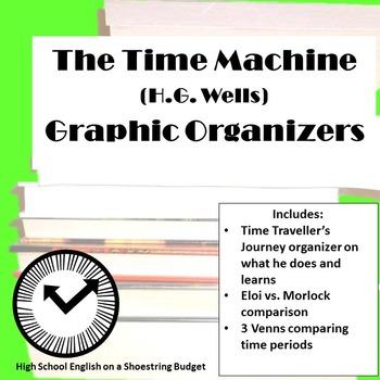 The Time Machine Graphic Organizers (H.G. Wells)