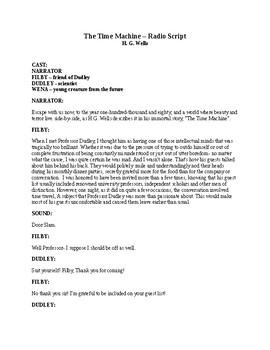 The Time Machine - Radio Script - H. G. Wells
