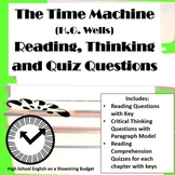 The Time Machine Reading, Thinking and Quiz Questions (H.G