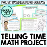 The Time Of Your Life - Telling Time Project Based Learning (PBL)