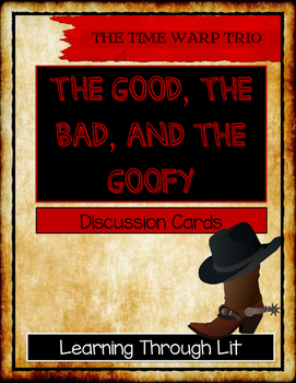 The Time Warp Trio THE GOOD, THE BAD, AND THE GOOFY - Disc