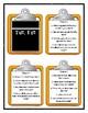 The Time Warp Trio TUT, TUT - Discussion Cards