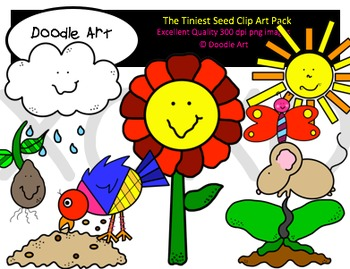 The Tiniest Seed Clipart Pack