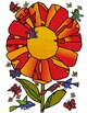The Tiny Seed, Eric Carle inspired sequenced story book clip art