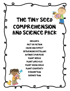 The Tiny Seed Science and Literacy Pack