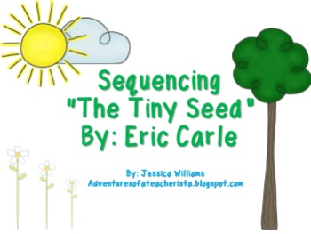 The Tiny Seed Sequence PowerPoint & Craftivities