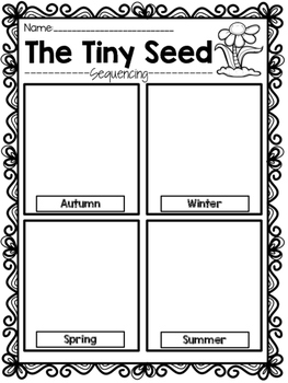 The Tiny Seed {Sequencing}