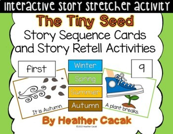 The Tiny Seed Story Sequence and Retelling Cards (Math and Literacy)