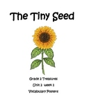The Tiny Seed Vocabulary Posters