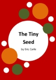 The Tiny Seed by Eric Carle - 6 Worksheets - Plant Life Cycle