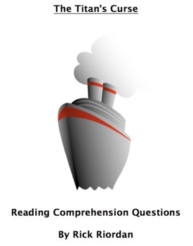 The Titan's Curse Reading Comprehension Questions and Book Test