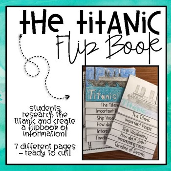 The Titanic Flip Book