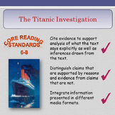'The Titanic Investigative Project' - Making Inferences