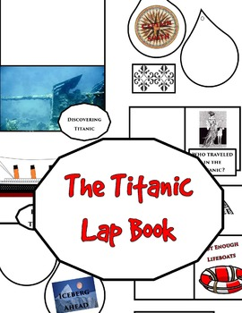 The Titanic Lap Book