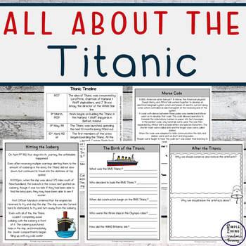 The Titanic Mini Unit