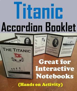 The Titanic Task Cards and Activities Bundle