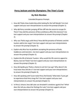 The Titans Curse: Percy Jackson, Book 3