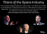 The Titans of the Space Industry: Musk, Bezos, and Branson