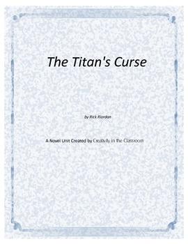 The Titan's Curse Novel Unit Plus Grammar