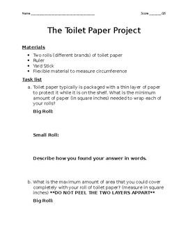 The Toilet Paper Project