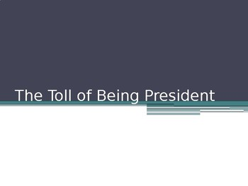 The Toll of Being President During a War