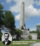 The Tomb of Abraham Lincoln Poster
