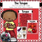 Sense of Taste: The Tongue - Sweet, Sour, Bitter, Salty