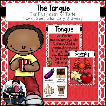 Tongue Activities: Sweet, Sour, Bitter, Salty {Anchor Char