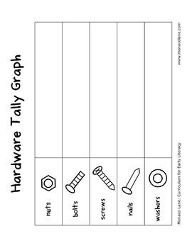 """""""The Tool Box"""" Homework Kit for Kindergarten (Set B #5 of 7)"""