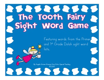 The Tooth Fairy - A Sight Word Game