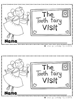 The Tooth Fairy Visit  (A Sight Word Emergent Readers and Teacher Lap Book)