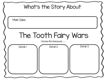 The Tooth Fairy War ~ by Kate Coombs - 29 pgs Common Core Activities