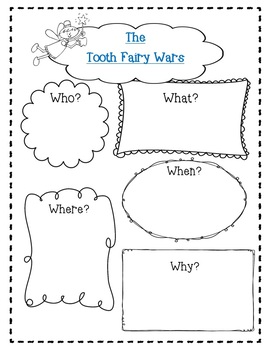 The Tooth Fairy Wars by Kate Coombs-A Complete Companion Journal