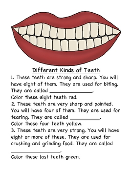 The Tooth, The Whole Tooth, and Nothing but the Tooth