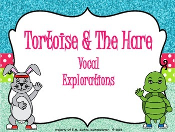 The Tortoise & The Hare - Vocal Explorations - PDF Edition