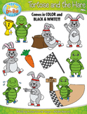 The Tortoise and The Hare Famous Fables Clipart {Zip-A-Dee-Doo-Dah Designs}