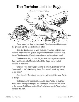 The Tortoise and the Eagle (An African Fable)