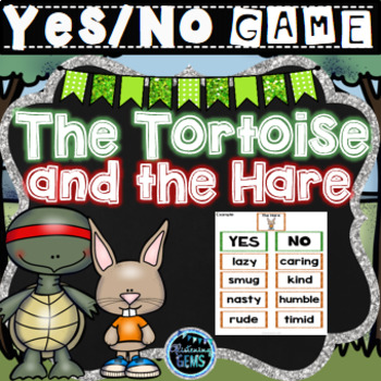 The Tortoise and the Hare Activities Bundle   Character Traits Activities