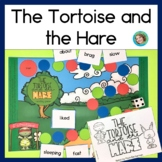 Fable The Tortoise and the Hare, book, story props and EDITABLE game