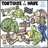 The Tortoise and the Hare Clip Art - Whimsy Workshop Teaching